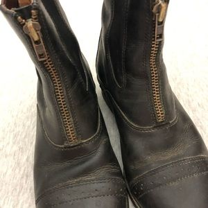 Ariat Shoes - Ariat Zip Up Leather Boots